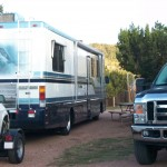 camping in motorhome for housing in Texas