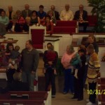Baby Dedication before we spoke @ 2nd Baptist Madisonville, Ky 11/1