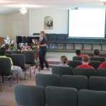 Joli teaching youth @ Corinth Christian Academy, Fl 4/30