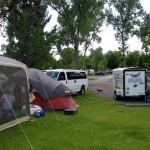 Tent camping for housing in Montana