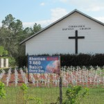 Memorial for the Unborn @ a Church in Florida