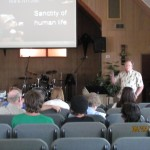 Doug preaching @ Life in Christ Church