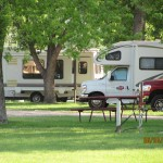 Camping in motorhome for housing in South Dakota