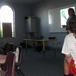 Joli teaching children @ New Hope