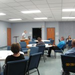 Doug teaching adults @ New Hope