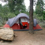 Tent camping for housing in Arizona