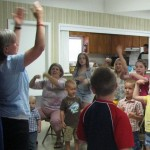 Joli teaching children @ Antioch Baptist, Fl 4/27