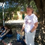 Praying at Abortion Clinic in Texas